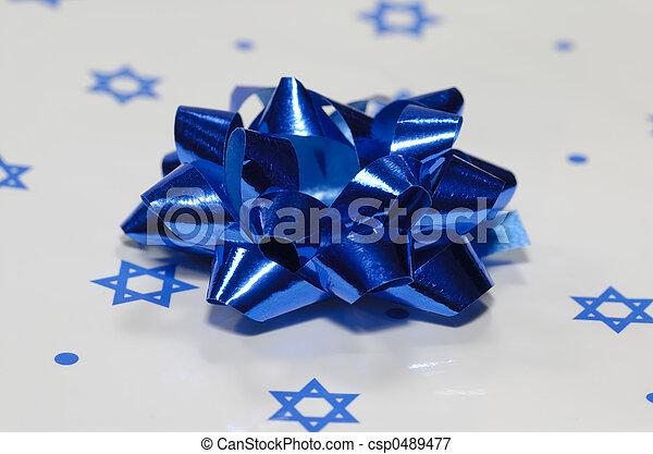 Chanukah Gift - csp0489477