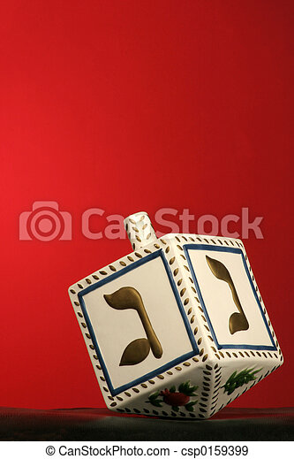 chanukkah dreidel - csp0159399