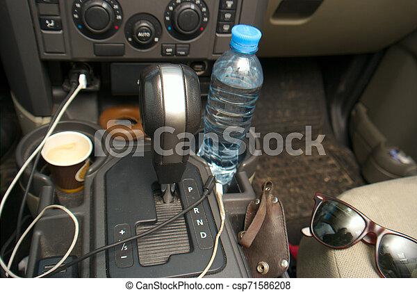 Chaos in a car - csp71586208