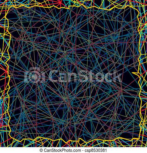 Chaotic Abstract Background - csp8530381