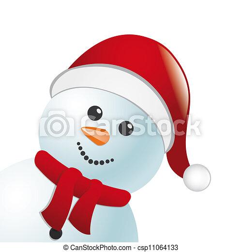 Chapeau bonhomme neige charpe bonhomme de neige claus - Chapeau bonhomme de neige ...
