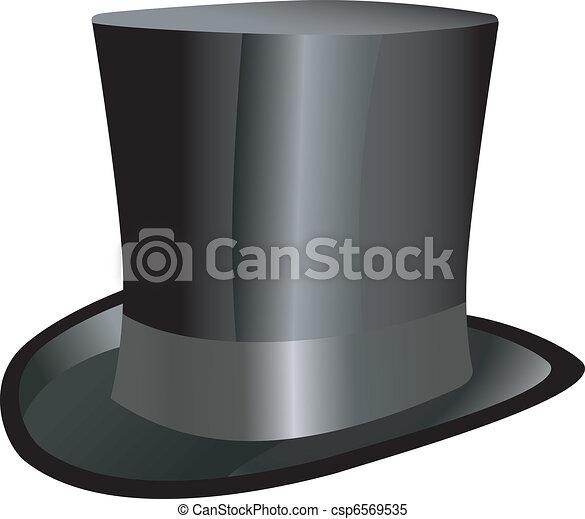 chapeau haut de forme - csp6569535