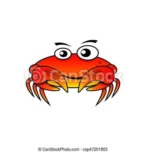 character crab vector illustration vector clipart search rh canstockphoto com crab vector art crab vector art