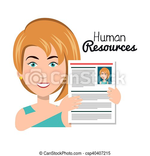 character woman with curriculum human resources vector vector rh canstockphoto com free curriculum clipart curriculum development clipart