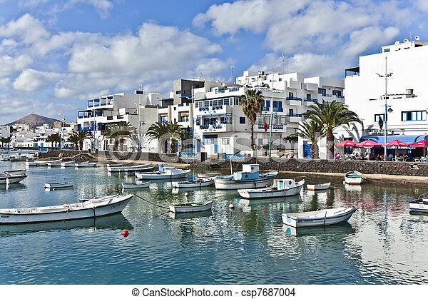 Charco de San Gines, Arrecife, - csp7687004