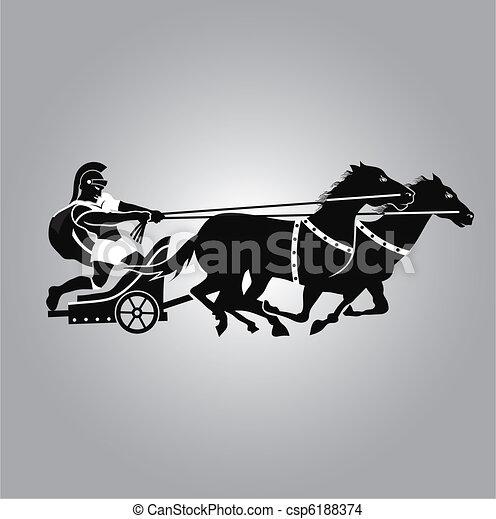 Chariot Logo - csp6188374