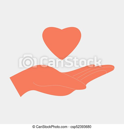 Charity love concept - csp52393680