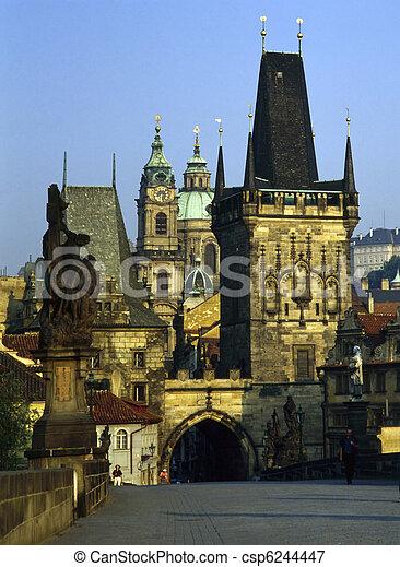 Charles Bridge, Prague - csp6244447