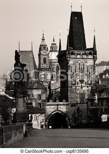Charles Bridge, Prague - csp8135695