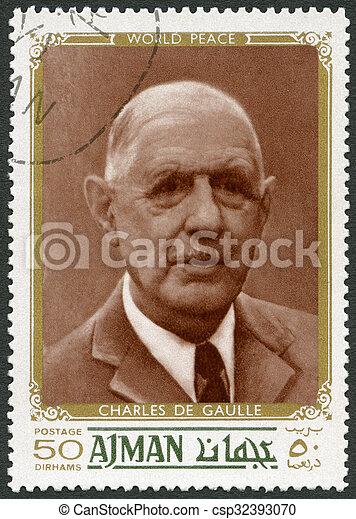 charles, de, -, (1890-1970), político, gaulle, uae, 1970:, mostra - csp32393070