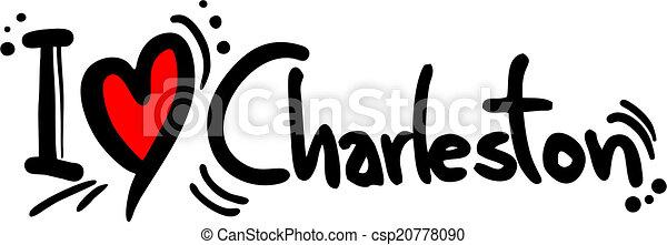 charleston, amore - csp20778090