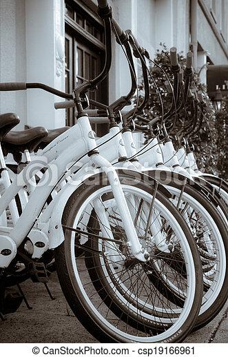 Charleston bikes - BW - csp19166961
