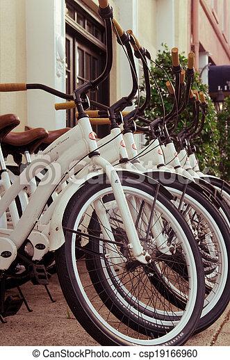 Charleston bikes - vintage color - csp19166960