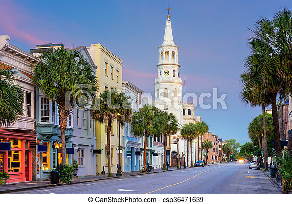 Charleston Carolina del Sur - csp36471639