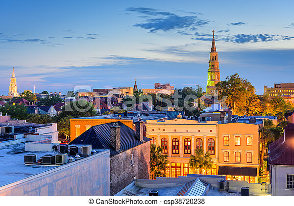 Charleston, Carolina del Sur - csp38720238