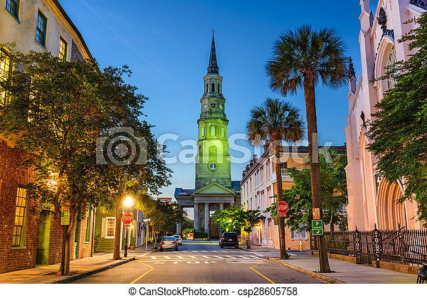 Charleston, Carolina del Sur - csp28605758
