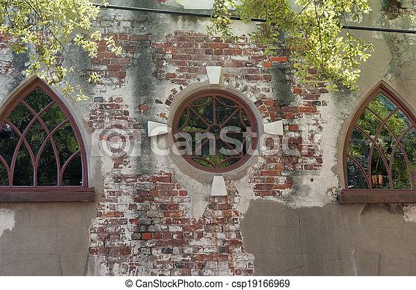 Charleston Carriage house - csp19166969