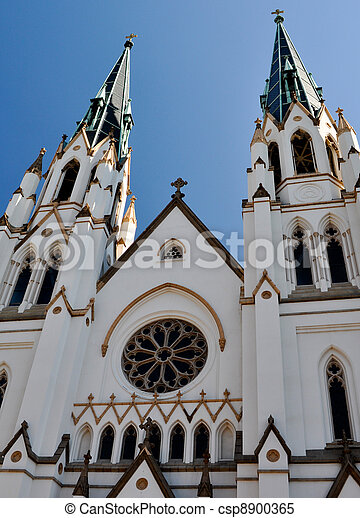 Charleston Church - csp8900365
