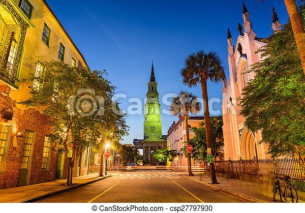 Charleston Cityscape - csp27797930