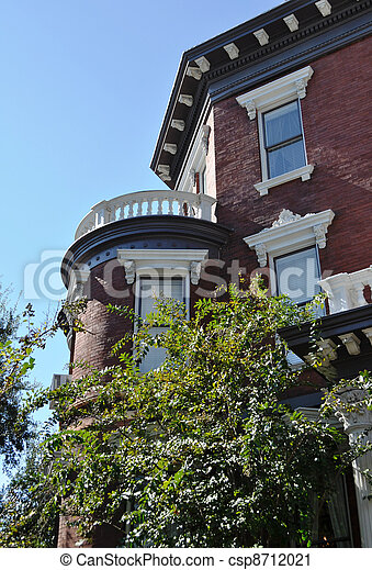 Charleston SC Victorian House - csp8712021