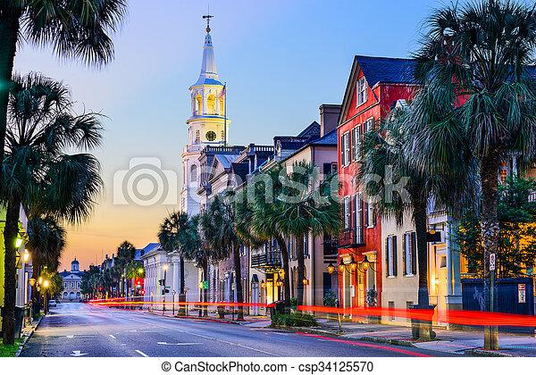 Charleston South Carolina - csp34125570