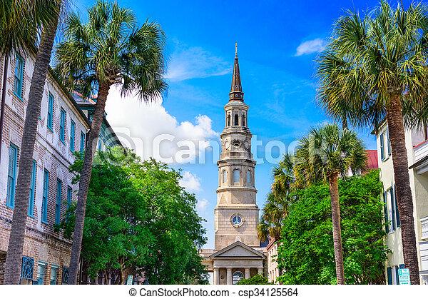 Charleston South Carolina - csp34125564