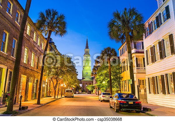 Charleston South Carolina - csp35038668
