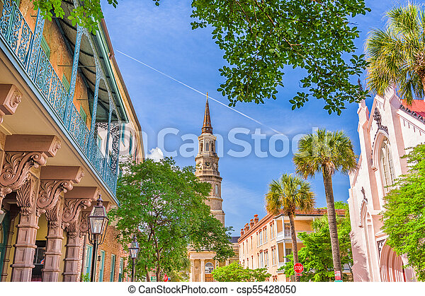 Charleston, South Carolina, USA - csp55428050