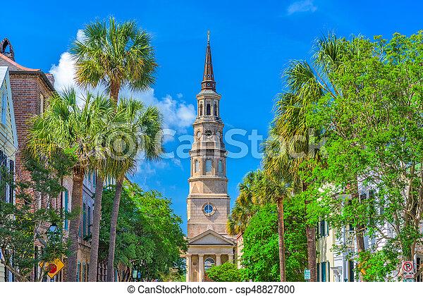 Charleston, South Carolina, USA - csp48827800