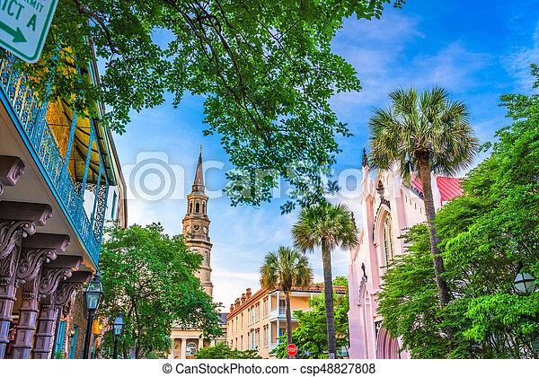 Charleston, South Carolina, USA - csp48827808