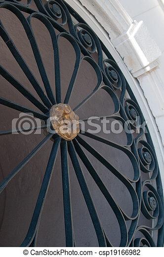 Charleston Wrought Iron - csp19166982