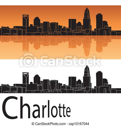 Charlotte Skyline - csp10167044