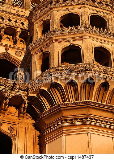 Charminar architecture - csp11487437