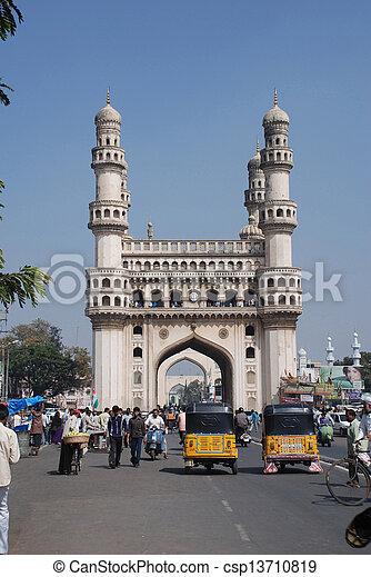 Charminar Hyderabad?s Old City - csp13710819