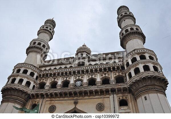 Charminar in Hyderabad - csp10399972