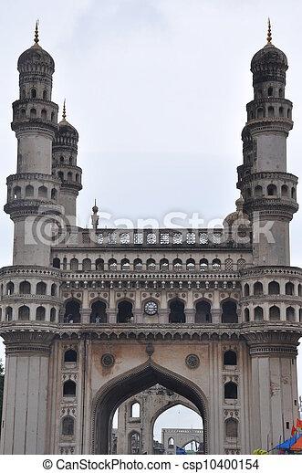 Charminar in Hyderabad - csp10400154