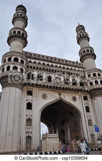 Charminar in Hyderabad - csp10399694