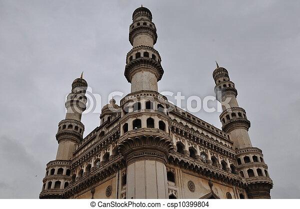 Charminar in Hyderabad - csp10399804