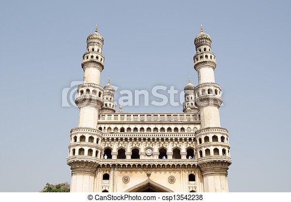 Charminar landmark, Hyderabad - csp13542238