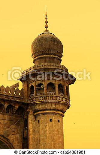 Charminar Minarate - csp24361981