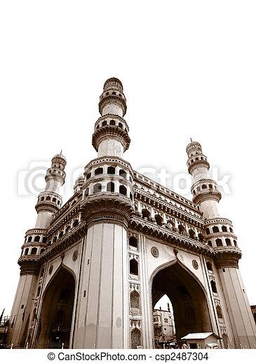 Charminar Monument - csp2487304