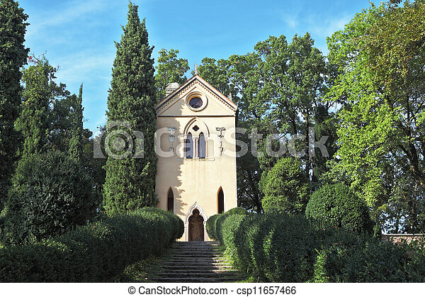 Charming baroque chapel - csp11657466