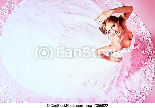 charming bride stock photo csp17355822