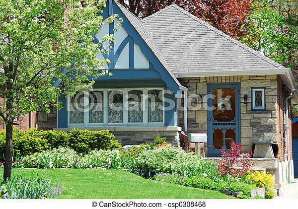 Charming house - csp0308468