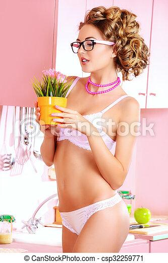 Wife lingerie pics