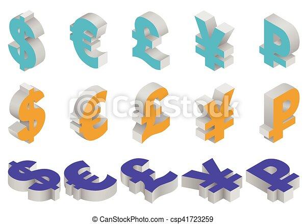 Charset world currencies