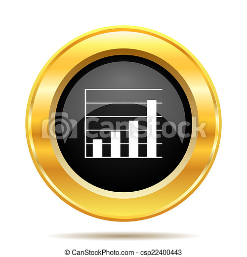 Chart bars icon - csp22400443