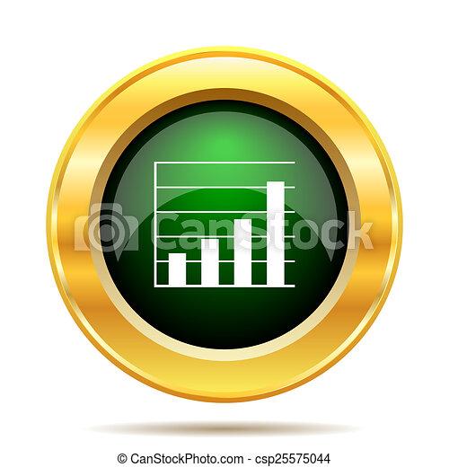 Chart bars icon - csp25575044