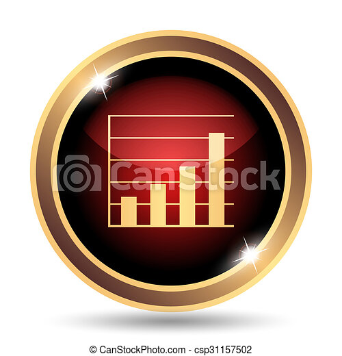 Chart bars icon - csp31157502