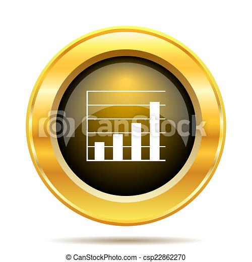 Chart bars icon - csp22862270